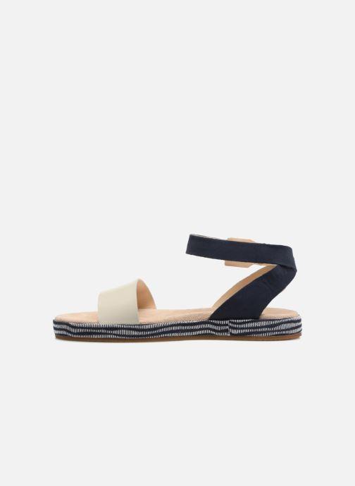 Sandales et nu-pieds Clarks Botanic Ivy Bleu vue face