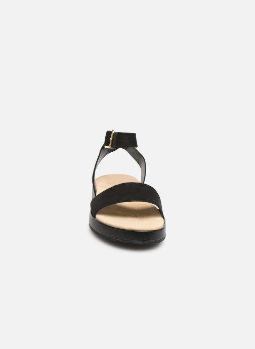 Sandales et nu-pieds Clarks Botanic Ivy Noir vue portées chaussures