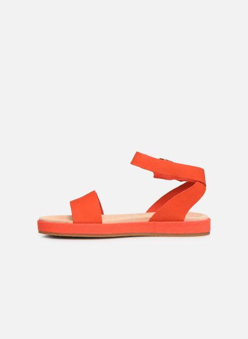 Sandali e scarpe aperte Clarks Botanic Ivy Arancione immagine frontale