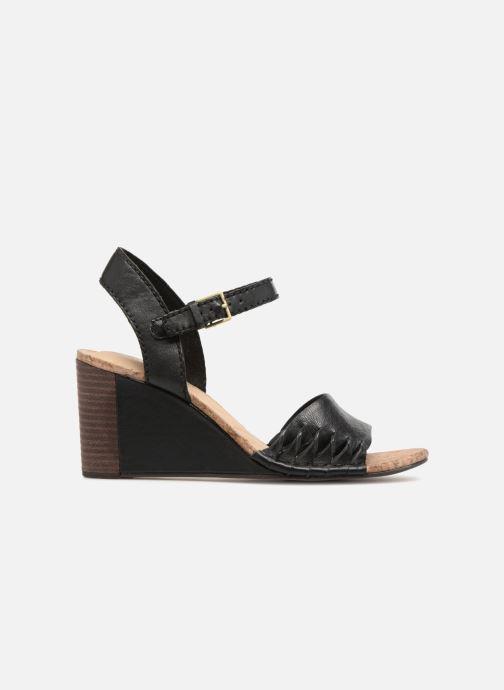 Sandali e scarpe aperte Clarks Spiced Poppy Nero immagine posteriore