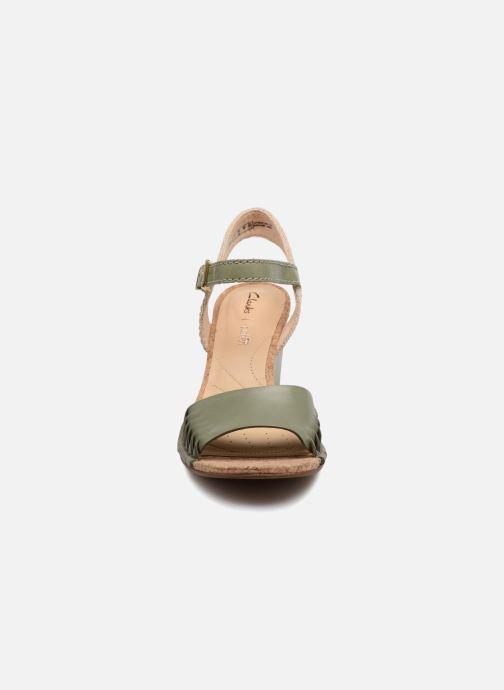 Spiced Et Sandales pieds Poppy Nu Clarks Light Green thQxBrCsd