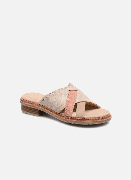 Clarks Trace Craft (beige) - Clogs & Pantoletten bei Más cómodo