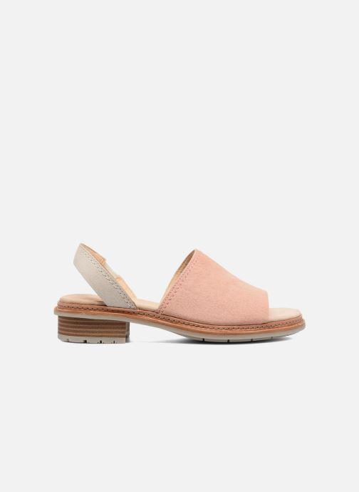 Sandales et nu-pieds Clarks Trace Stitch Rose vue derrière