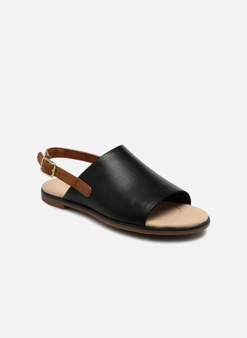 Sandaler Clarks Bay Jasmine Sort detaljeret billede af skoene