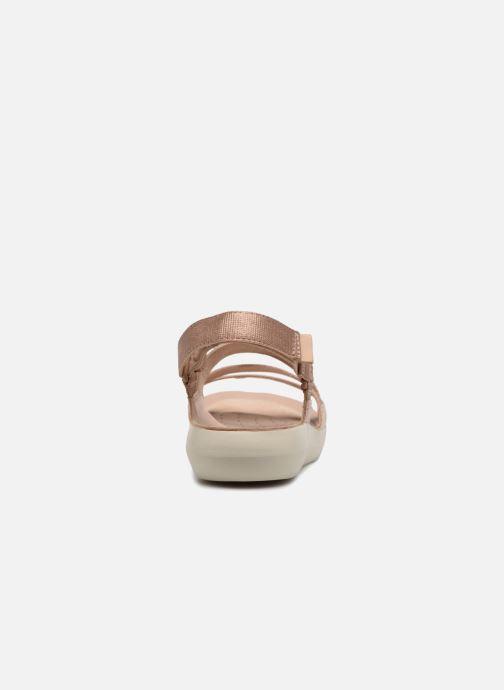 Sandaler Clarks Tri Sienna Pink Se fra højre