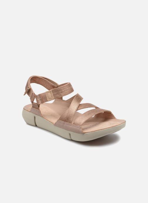 Sandaler Clarks Tri Sienna Pink detaljeret billede af skoene