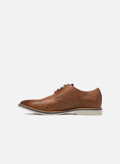 Chaussures à lacets Clarks Atticus Lace Marron vue face