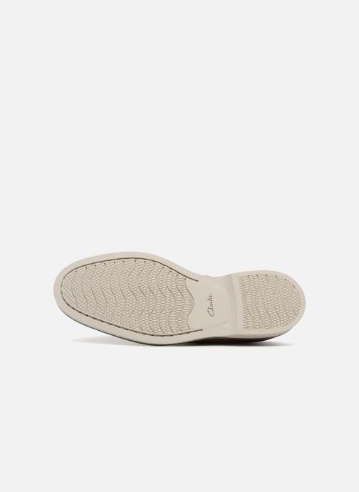 Chaussures à lacets Clarks Atticus Lace Marron vue haut