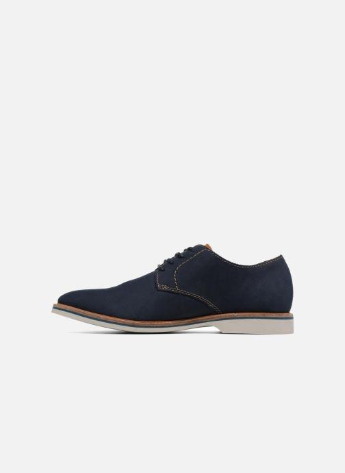 Chaussures à lacets Clarks Atticus Lace Bleu vue face