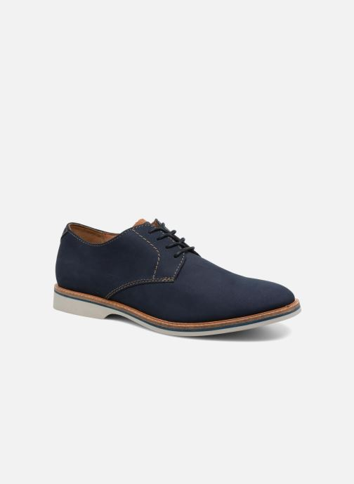 Chaussures à lacets Clarks Atticus Lace Bleu vue détail/paire