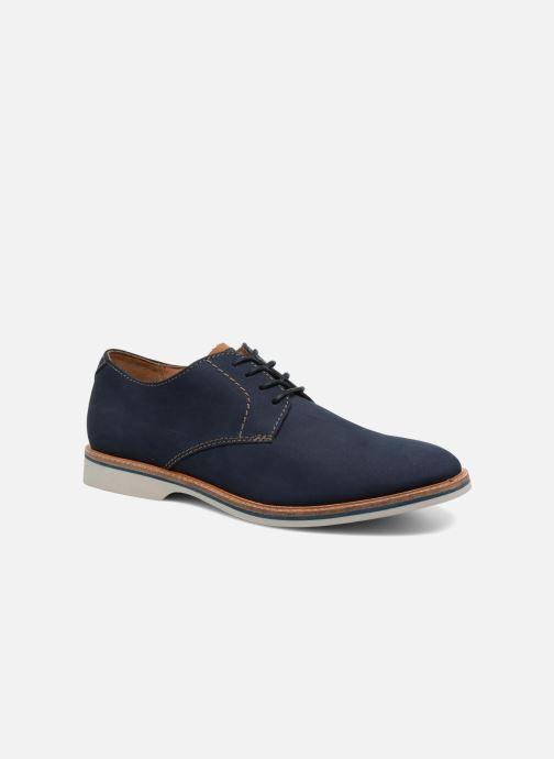 Snøresko Clarks Atticus Lace Blå detaljeret billede af skoene
