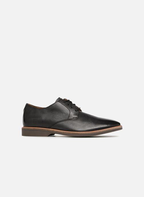 Zapatos con cordones Clarks Atticus Lace Negro vistra trasera
