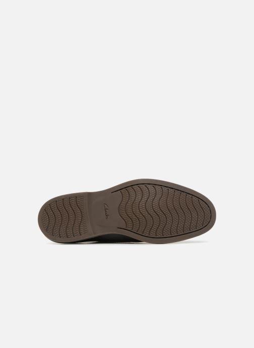 Chaussures à lacets Clarks Atticus Lace Noir vue haut