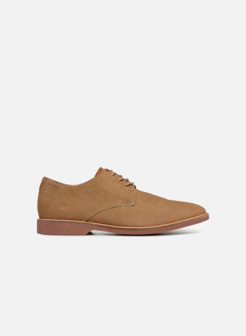 Zapatos con cordones Clarks Atticus Lace Beige vistra trasera