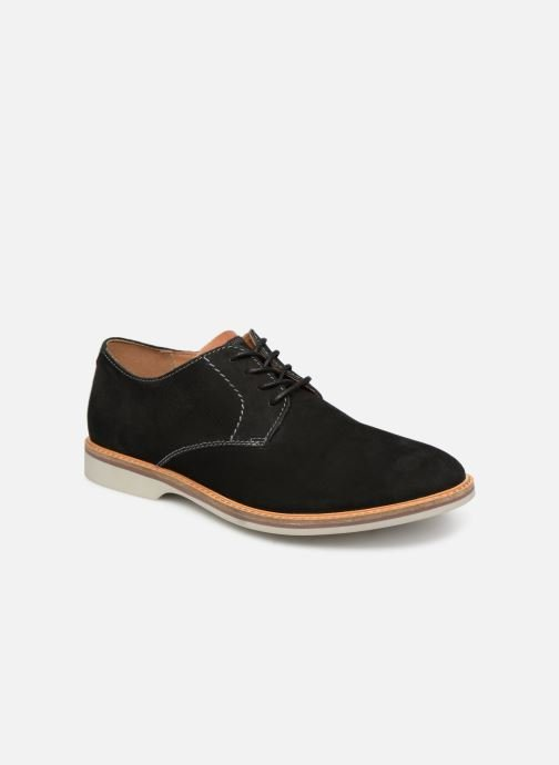 Lace-up shoes Clarks Atticus Lace Black detailed view/ Pair view