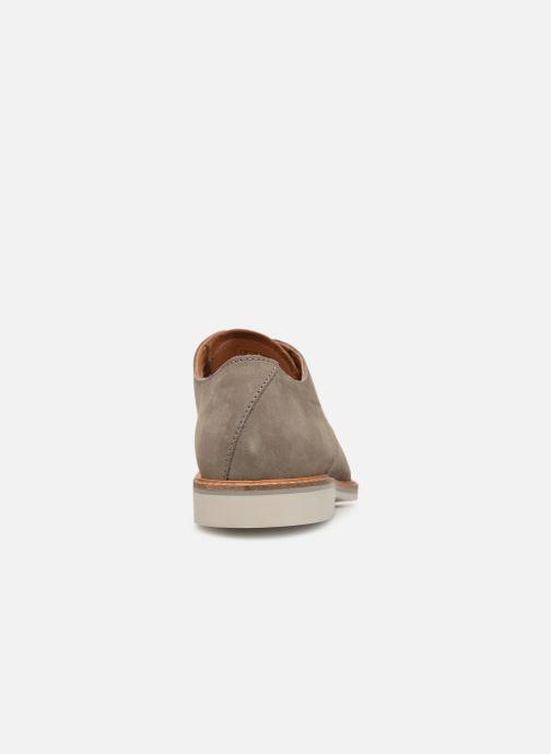 Zapatos con cordones Clarks Atticus Lace Gris vista lateral derecha