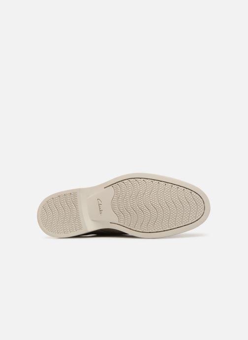 Chaussures à lacets Clarks Atticus Lace Gris vue haut