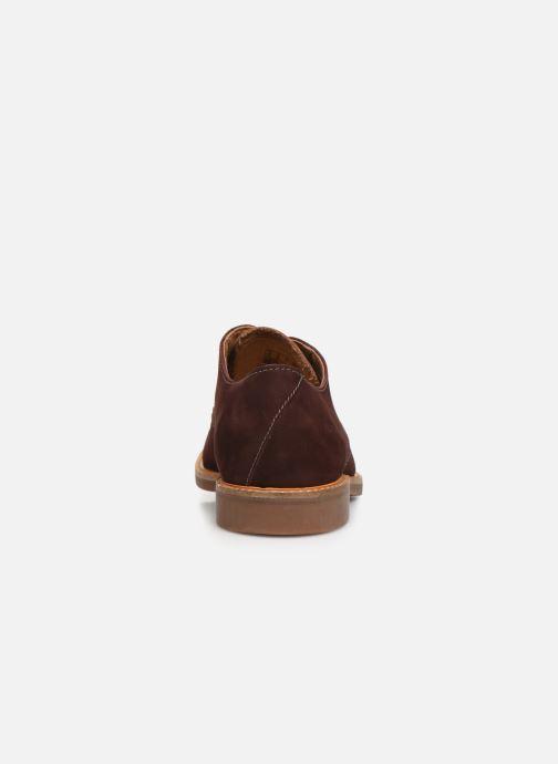 Chaussures à lacets Clarks Atticus Lace Bordeaux vue droite