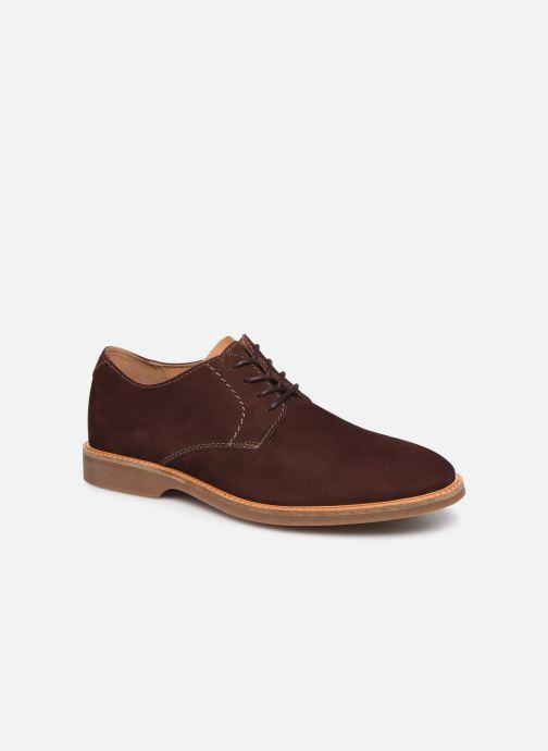 Chaussures à lacets Clarks Atticus Lace Bordeaux vue détail/paire