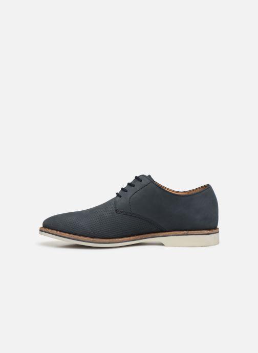Zapatos con cordones Clarks Atticus Lace Azul vista de frente