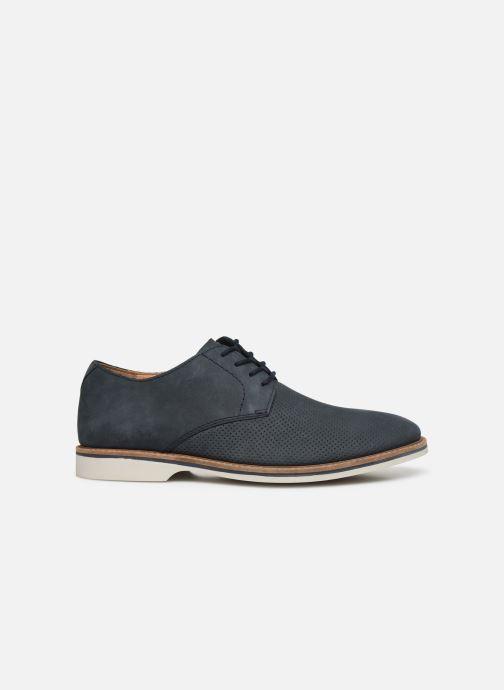 Chaussures à lacets Clarks Atticus Lace Bleu vue derrière