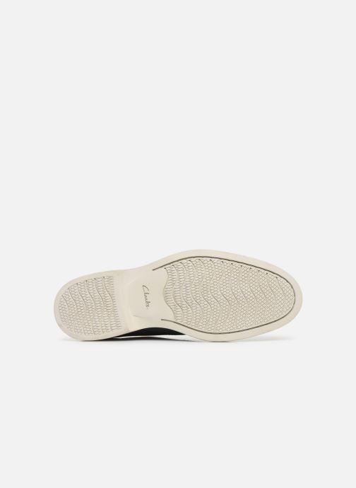 Chaussures à lacets Clarks Atticus Lace Bleu vue haut