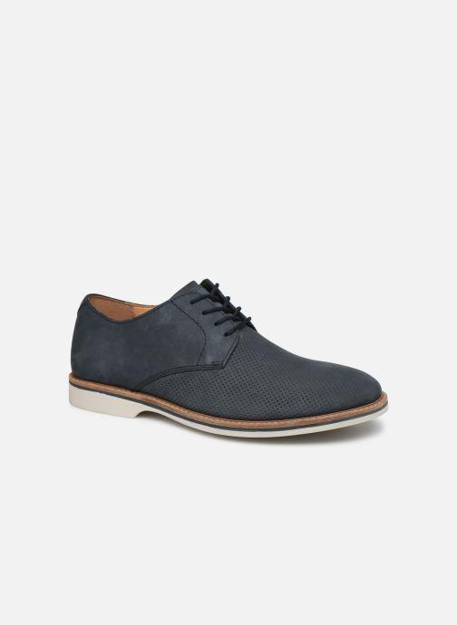 Zapatos con cordones Clarks Atticus Lace Azul vista de detalle / par