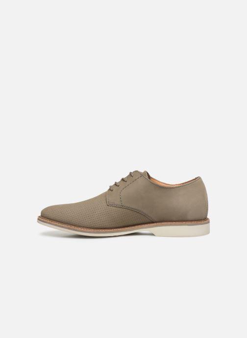 Zapatos con cordones Clarks Atticus Lace Verde vista de frente