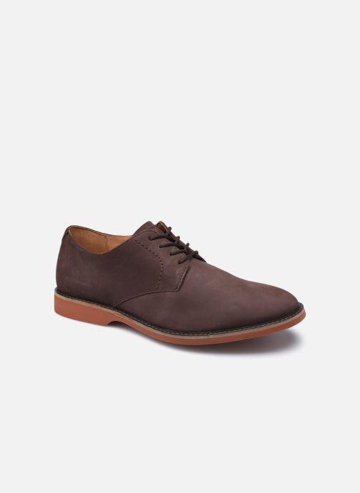 Zapatos con cordones Clarks Atticus Lace Marrón vista de detalle / par