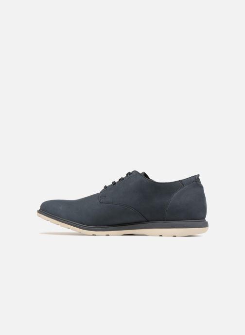Chaussures à lacets Clarks Glaston Walk Bleu vue face