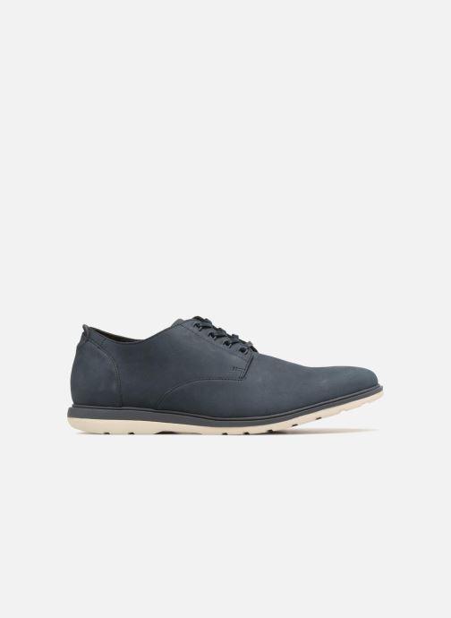 Chaussures à lacets Clarks Glaston Walk Bleu vue derrière