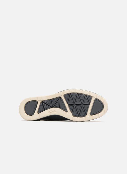 Chaussures à lacets Clarks Glaston Walk Bleu vue haut