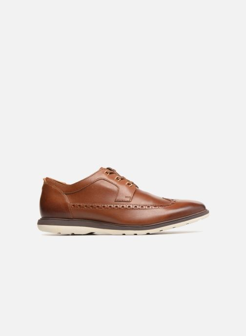 3c53d3a24bd Clarks Glaston Wing (Marron) - Chaussures à lacets chez Sarenza (320116)