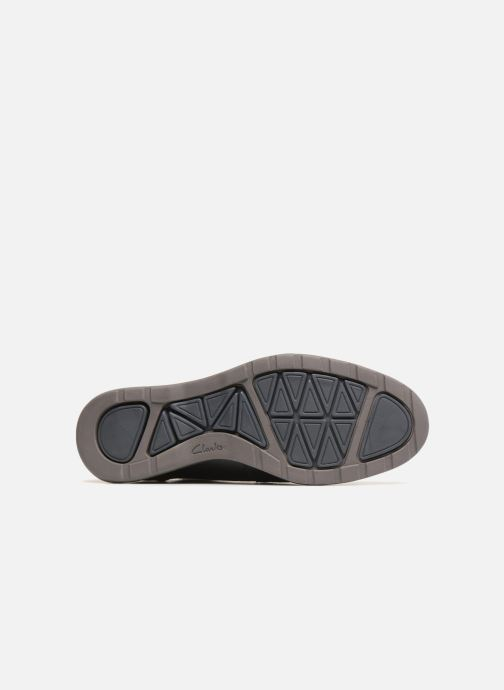 Lace-up shoes Clarks Glaston Wing Black view from above