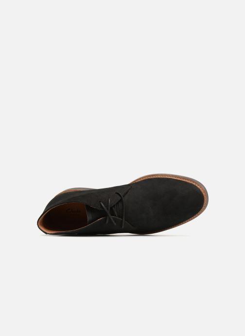 Boots en enkellaarsjes Clarks Atticus Limit Zwart links