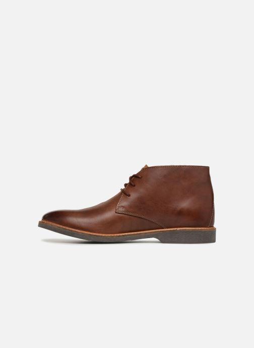 Bottines et boots Clarks Atticus Limit Marron vue face