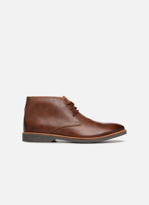 Boots en enkellaarsjes Clarks Atticus Limit Bruin achterkant