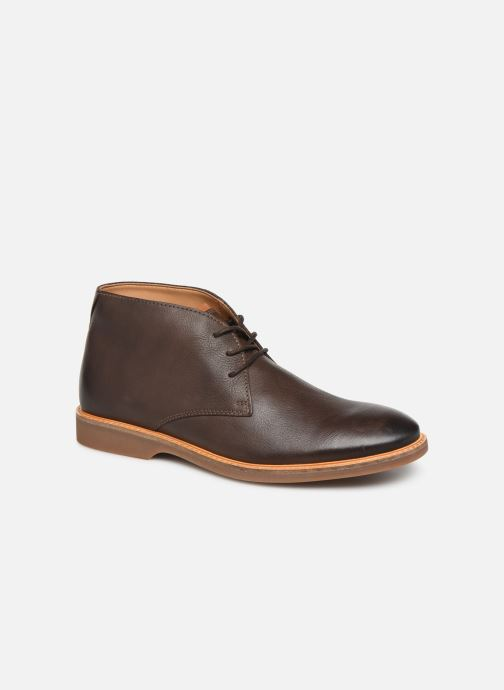 Bottines et boots Clarks Atticus Limit Marron vue détail/paire