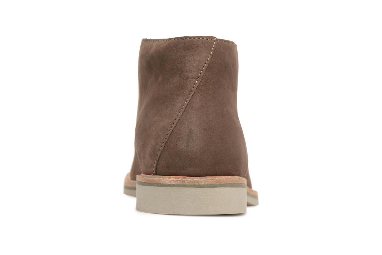 Bottines et boots Clarks Atticus Limit Marron vue droite