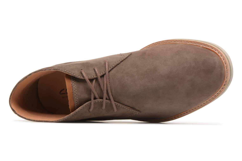 Bottines et boots Clarks Atticus Limit Marron vue gauche