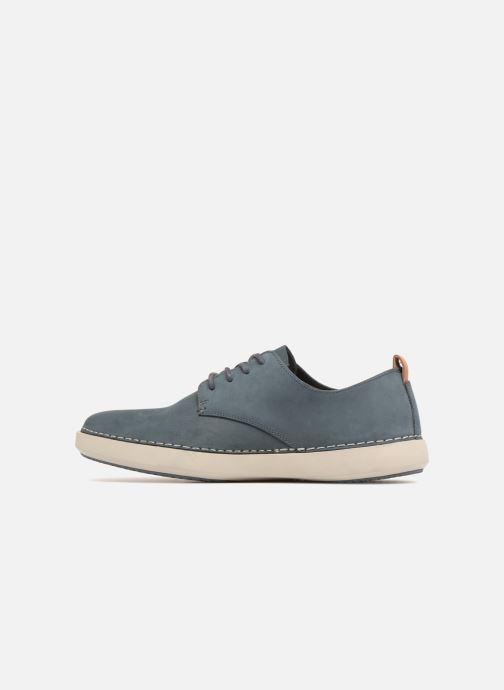 Trainers Clarks Komuter Walk Blue front view