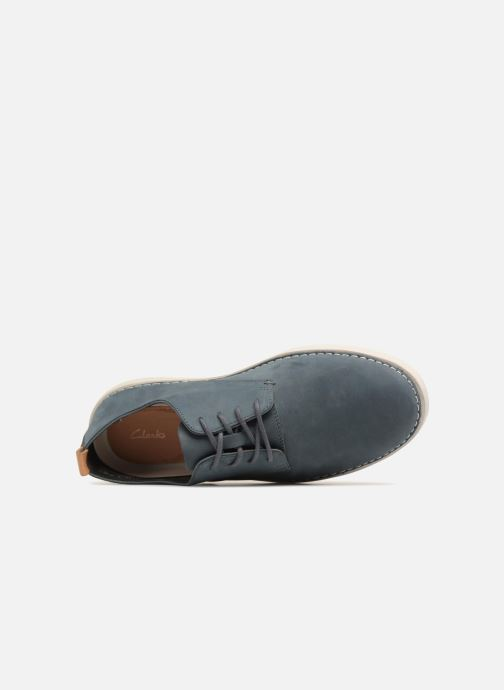 Trainers Clarks Komuter Walk Blue view from the left