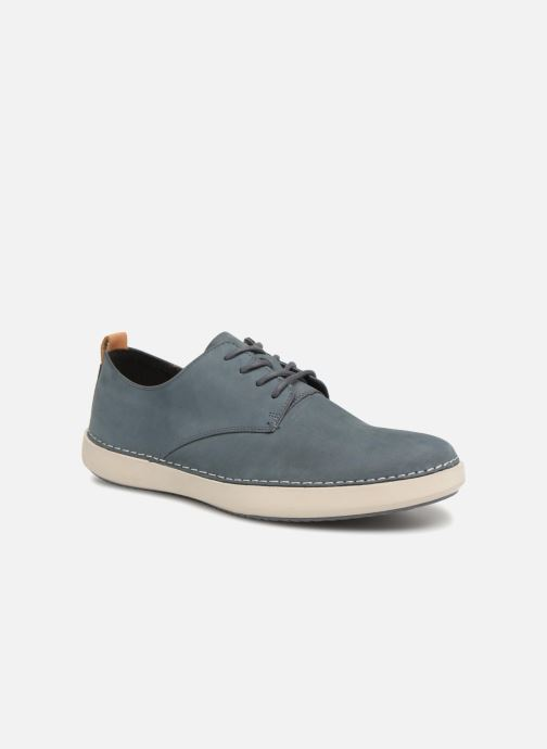 Trainers Clarks Komuter Walk Blue detailed view/ Pair view