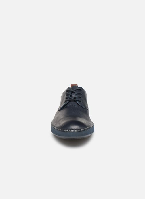 Sneaker Clarks Komuter Walk blau schuhe getragen
