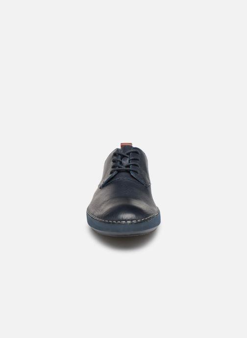 Baskets Clarks Komuter Walk Bleu vue portées chaussures