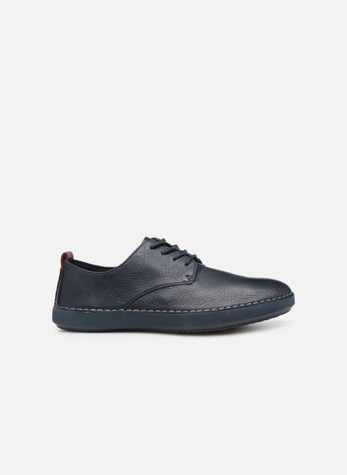 Sneakers Clarks Komuter Walk Blauw achterkant