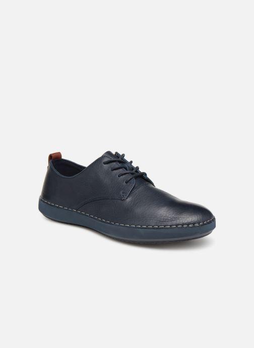 Sneakers Clarks Komuter Walk Blauw detail