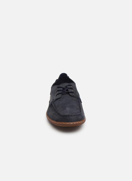 Zapatos con cordones Clarks Saltash Lace Azul vista del modelo