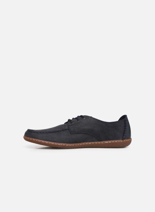 Zapatos con cordones Clarks Saltash Lace Azul vista de frente