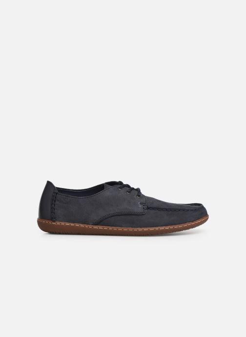 Zapatos con cordones Clarks Saltash Lace Azul vistra trasera
